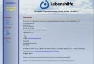Website Lebenshilfe Potsdam, Kreisverband Potsdam-Potsdam Mittelmark