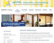 Bild eS-FOL Sonnenschutz durch Folientechnik