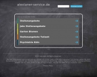 Bild Webseite Alexianer Klostergärtnerei Köln