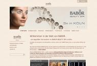 Bild Webseite BABOR Beauty Spa Köln - Junkersdorf Köln
