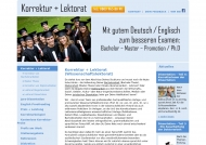 Bild Korrektur + Lektorat Bonn