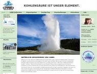 Bild Webseite Carbo-Köln Kohlensäurevertriebs Köln