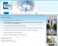 Bild Webseite Becher Fenster Köln