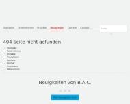 Website B.A.C. Bau- und Anlagenconsult Dr.Barleben