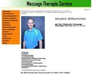 Bild Webseite Massage Therapie Service Köln