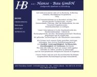 Website A&S Hanse-bau