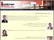 Website Bromberger Raum- und Farbgestaltung