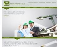 Bild Webseite Höhns - Bau Magdeburg