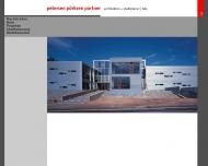 Bild Webseite ppp architekten Lübeck