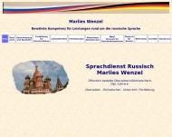 Bild Wenzel Marlies Sprachdienst Russisch