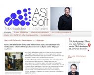 Bild Webseite ASiSoft UG Magdeburg
