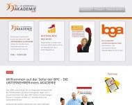Bild Webseite BPC -Business Planbar Consult Magdeburg