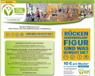 Website Vital-Fitness-Magdeburg