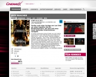 Bild Webseite KINO 3D und Digital - Willkommen bei CinemaxX Magdeburg