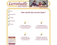 Website Lernstudio Matthies Nina