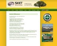 Bild Webseite CIMBRIA SKET Magdeburg