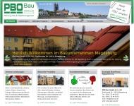 Bauunternehmen Magdeburg, Baufirma Magdeburg, Wohn- und Gewerbebau, Albausanierung, Balkonbau, Dachd...