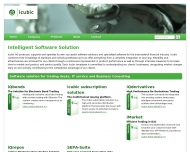 Bild Webseite icubic Consulting Magdeburg