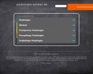Website Praxis für Podologie