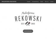 Bild Webseite Malerfirma Rekowski Magdeburg