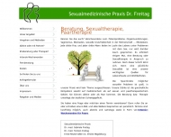 Website Freitag Torsten Dr. u. Gabriele Dr., Arztpraxis Sexualmedizin Sexualtherapie