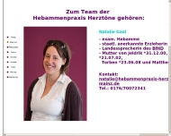 Website Hebammenpraxis Herztöne