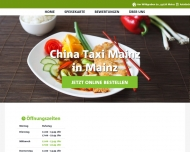 Bild China Taxi Mainz