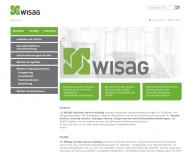 Website WISAG Gebäudereinigung Baden-Württemberg