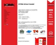 Bild HYMA Erfurt Hydraulik-Service u. Maschinenbau GmbH