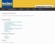 Website Bewegungszentrum Mainz