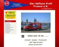 Bild Der Abfluss-Profi Rohr- und Kanalreinigung Fromm e.K.