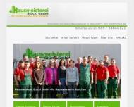 Bild Webseite Hausmeisterei Stückl München