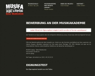 Website Musifa - Deine Musikschule in Leipzig