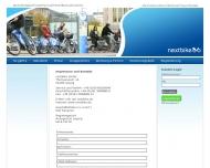 Website nextbike - Das Fahrradverleihsystem