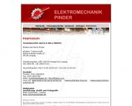 Website Elektromechanik Pinder Leipzig - Elektro Leipzig