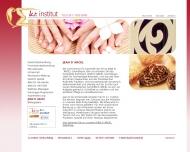 Website K.R. Institut - Wellness und Kosmetik