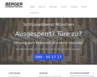 Website Berger Sicherheitstechnik
