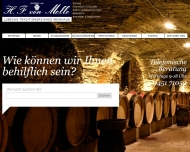Bild Webseite Melle, H.F. von Lübeck