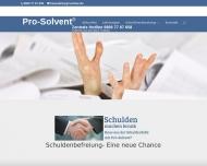 Bild Schuldnerberatung Pro-Solvent