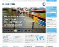 Bild Webseite Kuehne + Nagel (AG Hannover