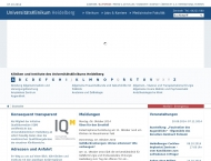 Bild Universitätsklinikum Heidelberg Universitäts-Hals-Nasen-Ohren-Klinik