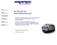 Bild Webseite Ehrenfried Aluminiumhärtetechnik Reutlingen