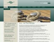Bild Webseite German Consulting Group Karlsruhe