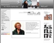 Bild Hochschule für Musik Karlsruhe