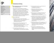 Website ip5 ingenieurpartnerschaft Knapp Rohlffs u. Weitere