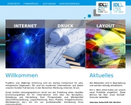 Website IDL Gerhard Becker