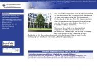 Bild Webseite Generalbundesanwalt beim Bundesgerichtshof Karlsruhe