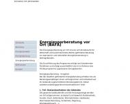 Bild Energieberatung Dipl.-Ing. Holger Gossner Architekt