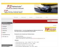 Website TIP Fahrschule + Sportbootschule