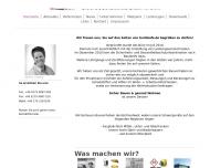 Bild Webseite buildsafe.de Spalt